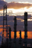 ландшафт 2 фабрик Стоковые Изображения RF