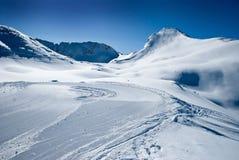 ландшафт alps Стоковое Изображение
