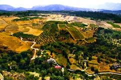 ландшафт andalusia Стоковое Изображение