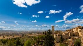 Ландшафт Assisi стоковая фотография rf