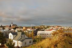 Ландшафт Borgarnes, Исландия Стоковое Изображение