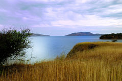 ландшафт caledonia новый Стоковое фото RF