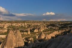 Ландшафт Cappadocia Стоковые Фотографии RF
