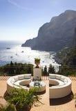 ландшафт capri Стоковые Изображения