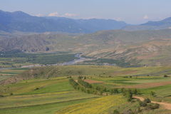 ландшафт caucasus зеленый Стоковое фото RF