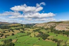 Ландшафт Denbigshire, Уэльс, Великобритания Стоковое Фото