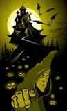 ландшафт halloween Стоковая Фотография RF