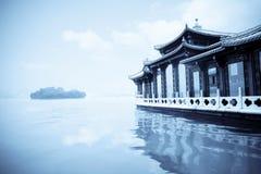 ландшафт hangzhou стоковая фотография rf