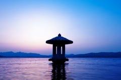 ландшафт hangzhou стоковые фотографии rf