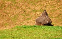 ландшафт haystack стоковая фотография