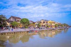 Ландшафт Hoi древний город, Вьетнам Стоковая Фотография