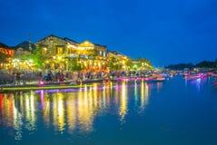 Ландшафт Hoi древний город, Вьетнам Стоковые Фото
