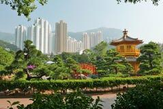 Ландшафт HONKG KONG Стоковые Фотографии RF