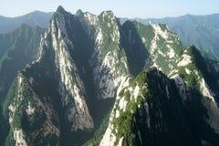Ландшафт Huashan горы Стоковая Фотография RF