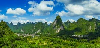 Ландшафт Karst в Guilin стоковые изображения rf