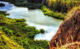 ландшафт kazakhstan Стоковое Изображение RF