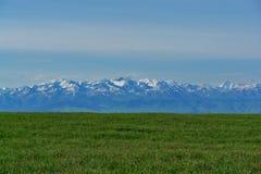 ландшафт kyrgyzstan Стоковое Фото