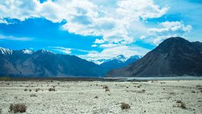 Ландшафт ladakh Lah, Индии стоковые изображения rf