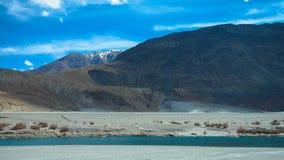Ландшафт ladakh Lah, Индии Стоковые Фото