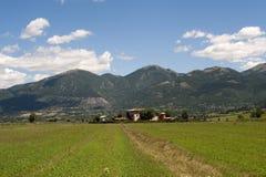 ландшафт lazio umbria Италии Стоковое Изображение RF