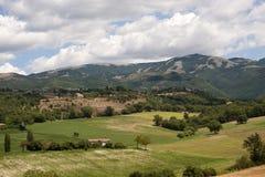 ландшафт lazio umbria Италии Стоковое фото RF