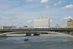 ландшафт moscow Россия города Стоковое Фото