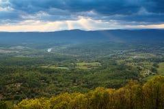 Ландшафт Shenandoah Valley Вирджиния Стоковые Изображения