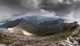 Ландшафт Snowdonia, Уэльса Стоковое Изображение