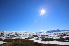 Ландшафт Spring Valley стоковое изображение rf
