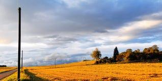 ландшафт swabian alb стоковые фото
