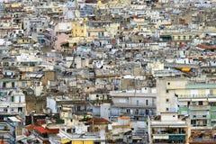 ландшафт thessaloniki урбанский Стоковая Фотография