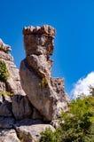 Ландшафт Torcal de Antequera стоковые фотографии rf