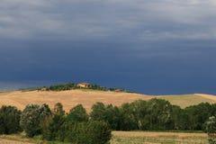 ландшафт tuscan Стоковое фото RF