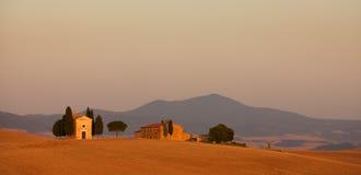 ландшафт tuscan Стоковые Изображения RF