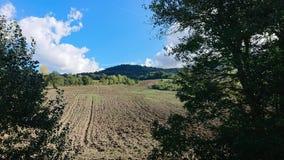 Ландшафт Valmarrechia стоковая фотография