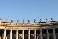ландшафт vatican аркы стоковые изображения rf