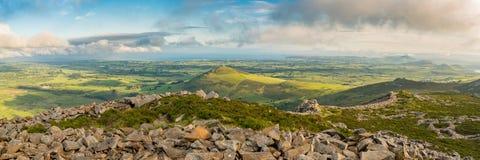 Ландшафт Welsh на полуострове Llyn Стоковое фото RF