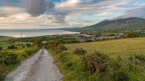 Ландшафт Welsh на полуострове Llyn Стоковая Фотография RF