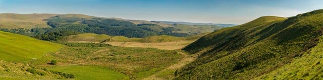 Ландшафт Welsh около Cwmystwyth Стоковая Фотография RF