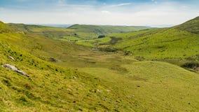 Ландшафт Welsh около Tal-y-bont, Великобритании Стоковые Изображения RF