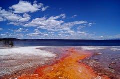 ландшафт yellowstone Стоковое фото RF