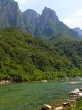 ландшафт yuntaishan стоковое фото