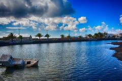 Лансароте, Arrecife Стоковые Фотографии RF