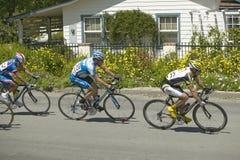 Ланс Армстронг состязаясь Стоковая Фотография