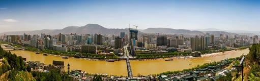 Ланьчжоу, провинция Ганьсу, Китай Стоковое Изображение