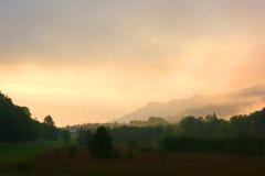 Ландшафты горы Италии Стоковое Фото