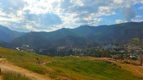 Ландшафты гор Стоковое фото RF