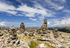Ландшафты гор Altai. Стоковое Изображение RF
