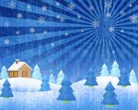 Ландшафты зимы Стоковое Фото