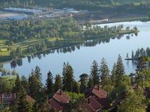 Ландшафты Норвегии Стоковые Фотографии RF